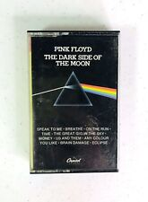 Pink Floyd Dark Side of the Moon cassette Vintage Capitol 1973 Tested