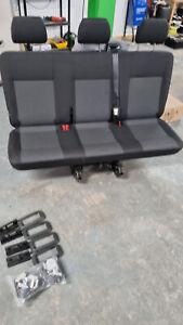 VW T6 REAR CLIP OUT TRIPLE SEAT