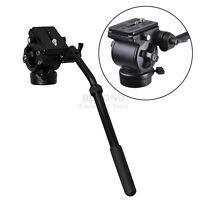 Pro Fluid Drag Tripod Head for Camera Camcorder DSLR Video Handle Arm EI717AH