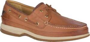NEW Mens SPERRY TOP SIDER Gold Boat ASV Cymbal Brown LEATHER Boat Shoes GENUINE