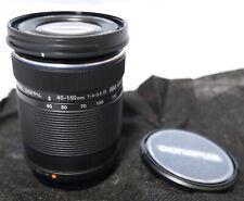 F/S New Olympus M.ZUIKO DIGITAL ED 40-150 mm F4.0-5.6 R Lens for M4/3 Black