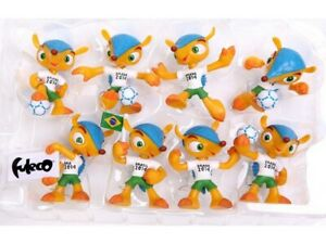 New, 2014 FIFA World Cup Brazil Collectible Figurines, Official Licensed Product