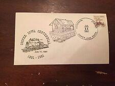 1981 Cooper Centennial Cooper Iowa Special Stamp Cover