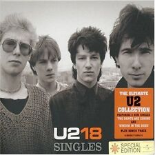 U2 18 SINGLES CD ALBUM I WILL FOLLOW DESIRE PRIDE BEAUTIFUL DAY ELEVATION