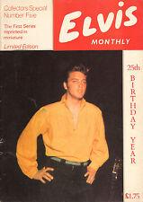 ELVIS MONTHLY COLLECTORS SPECIAL No. 5 (1984)
