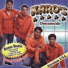Karo`S-Desconocido CD NEW