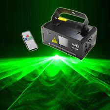 SUNY Remote DMX 50mW GREEN Laser Stage Beam Scanner DJ Party Show Light DM-G50