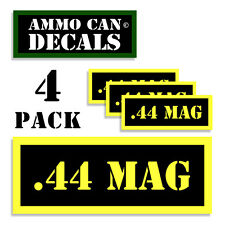 44 SPL Ammo Can Label 4x Ammunition Case stickers decals 4 pack YW MINI 1.5in