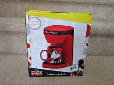NewDisney MICKEY MOUSE Single Serve Cup COFFEE MAKER w/ Ceramic Mug