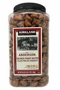 Kirkland HK Anderson Peanut Butter Filled Pretzel Nuggets 55 oz. (Each)