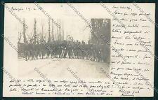 Bologna città Militari Foto cartolina QQ9157