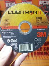 "free shipping (50 WHLS) 3M Cubitron II 86929 Cut-Off Wheel 4-1/2""X.040""X7/8"" T1"