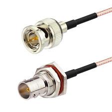 BNC zu BNC Weibchen Schott halterung 75Ohm RG-179 3G HD SDI Video kabel 60cm