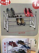 Etagère à Chaussures - Wenko 7050100 Télescopique Empilable (831)