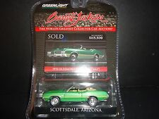 Greenlight Oldsmobile Cutlass 442 1970 Green 1/64 Barrett Jackson