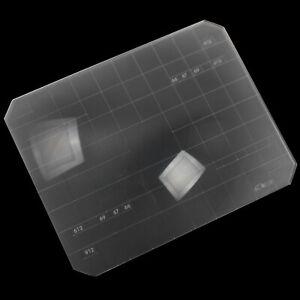 Super Bright 2 in 1 4x5 Ground Glass Fresnel Focusing Screen Linhof Wista Sinar