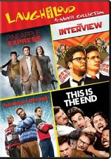 The Interview/The Night Before/Pineapple Express/This Is the End (DVD, 2017, 3-Disc Set)