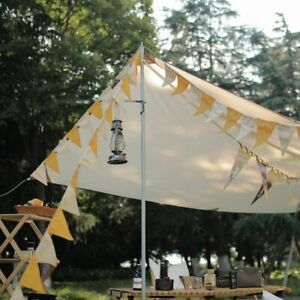 Outdoor Decorative Small Flag Wind Rope Camping Triangle String Bunting Banner