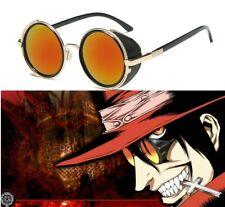 HELLSING Alucard Vampire Hunter Tailored Cosplay Props Glasses Orange Sunglasses