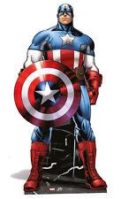 Capitan America Grandezza naturale SAGOMA DI CARTONE Marvel Avengers Assemble