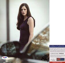 Jessica De Gouw Signed 8x10 Arrow Helena The Huntress PSA/DNA