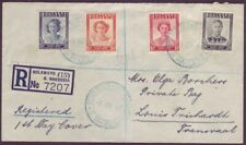 Southern Rhodesia 1947 Victory Set - Registered FDC Bulawayo To Louis Trichardt