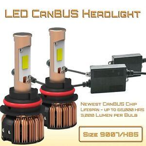 New CanBUS LED Headlight Kit - 9007/HB5 CanBUS LED Conversion Kit