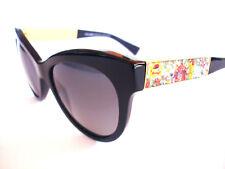 Dolce and Gabbana Sunglasses DG 4215 Black Floral Polarized  501/T3 Authentic