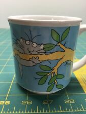 Sandra Boynton Hang In There Coffee Mug Cup Made In Japan Cat on a Branch