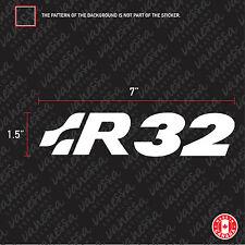 2X R32 VW VOLKSWAGEN sticker vinyl decal
