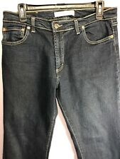 Vitamina Jeans Size US 14 EUR 48 Jeans Dark Wash Stretch Made in Italy BC15