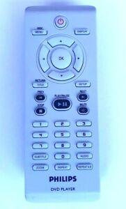Genuine Philips 242254900908 DVD Remote DVP3040 DVP3120 DVP3144 DVP3960 DVP5160