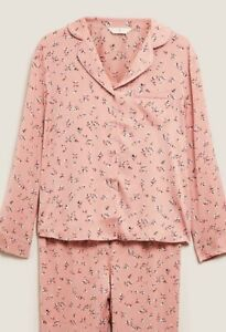 M&S Ladies Floral Pyjamas BNWT Size 20