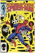 Spectacular Spider-Man 99 Marvel 1985 Nm Kingpin Black Cat Spot Alien Symbiote