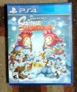 Scribblenauts Showdown Ready Set Party (Sony PlayStation 4, 2018) New & Sealed