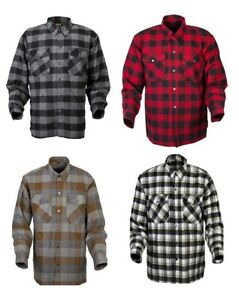 Scorpion Adult Covert Flannel Motorcycle Riding Shirt All Colors S-4XL