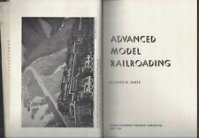 Advanced Model Railroading Louis Hertz 1st ed/print 1955 hc/dj simmons boardman