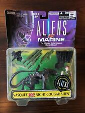 Aliens Vs Marines Kenner Action Figure Vasquez Vs Night Cougar Alien 1996