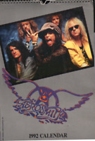 AEROSMITH 1992 calendar  licensed,  STEVE TYLER  rock music, Joe Perry