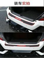 Car Accessories Door Sill Cover Scuff Plate Rear Bumper Guard Protector 90*7.2