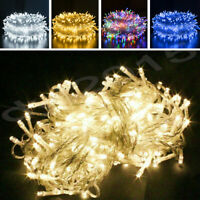 100/200/300/500 LED Fairy String Lights Home Outdoor Party Waterproof US Plug In