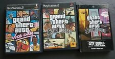 Grand Theft Auto Vice City & San Andreas PlayStation  PS2 GTA lot Strategy Guide