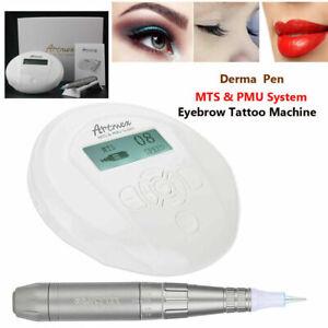 Artmex V6 Tattoo Machine Permanent Makeup Eyebrows Lip Micropigmentation MTS