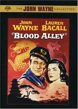 BLOOD ALLEY (1956 John Wayne, Lauren Bacall) DVD - UK Compatible -  sealed