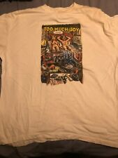 Rare Too Much Joy - Finally Rare 1996 Vintage T-Shirt Long Sleeved Usa