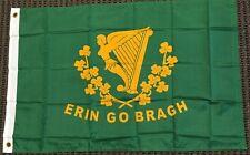 3x5 Erin Go Bragh Flag Irish Ireland Polyester Banner 3' x 5'