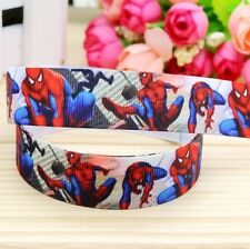 Cake Craft Hair RIBBON Decoration Birthday Cake Decorating- 22mm -SPIDERMAN - 1m