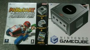 gamecube console boxed with 6 games