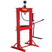 Werkstattpresse 20t Presse hydraulikpresse Fußpumpe Lagerpresse mit Manometer