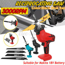 Cordless Electric Reciprocating Saw Outdoor Saber Cutting For 18V Makita